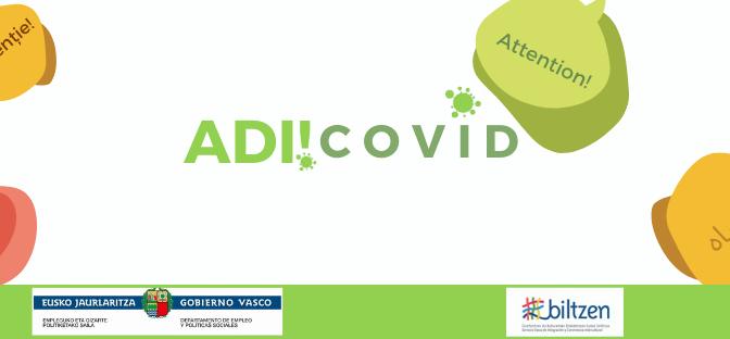 Nuevo canal informativo Adi! Covid